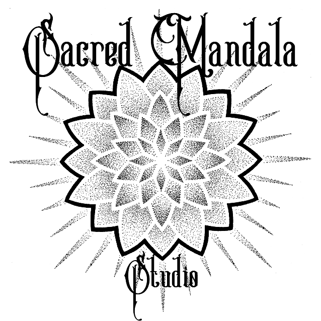 Sacred Mandala Studio Logo - Custom One of a Kind Tattoo Shop in Durham, North Carolina